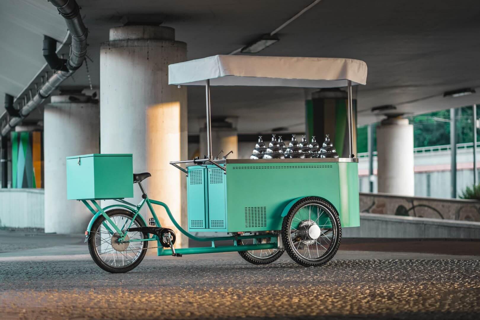 food bike glace